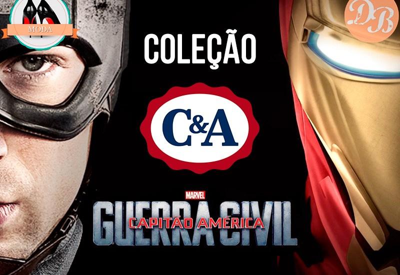 Coleção C&A Capitão América: Guerra Civil
