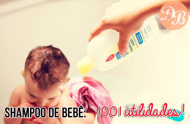 Shampoo de bebê: 1001 utilidades!