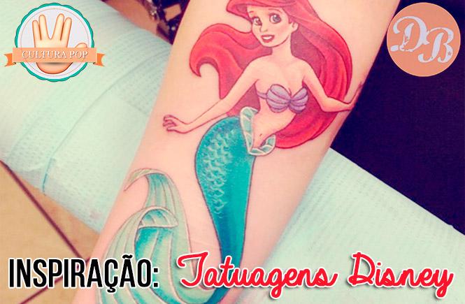 Inspiração: Tatuagens Disney