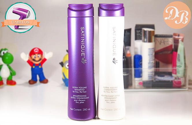 Testei: Satinique Extra Volume – Shampoo e Condicionador