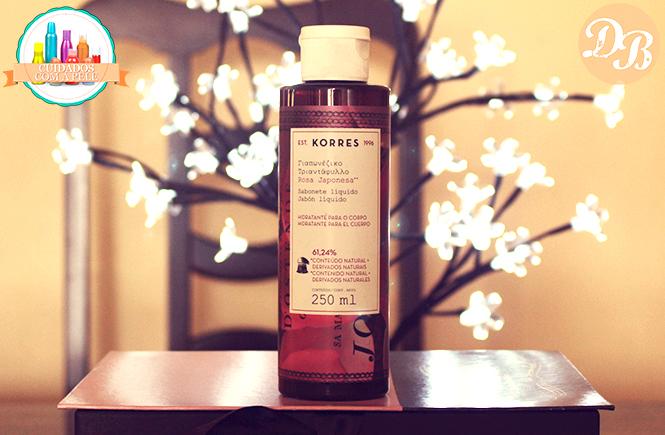 Testei: Sabonete Líquido Korres Rosa Japonesa