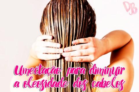Umectação para diminuir a oleosidade dos cabelos
