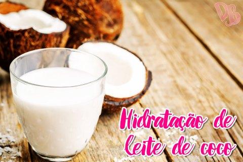 Hidratação de leite de coco