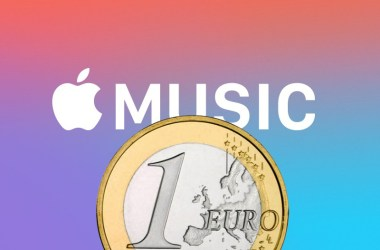 Apple Music por 1€