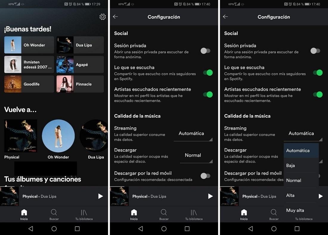 Reproduce tus playlist de Spotify con la mejor calidad en simples pasos