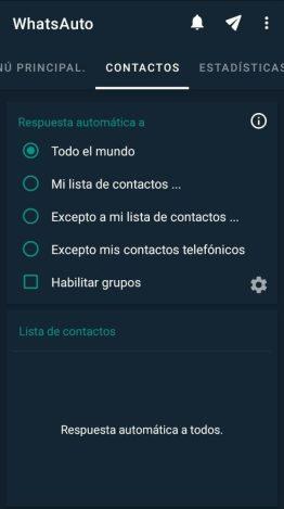 respuestas automáticas en WhatsApp