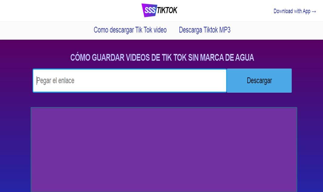 vídeos TikTok sin marca de agua