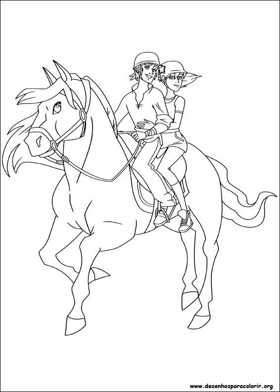 The Ranch para colorir