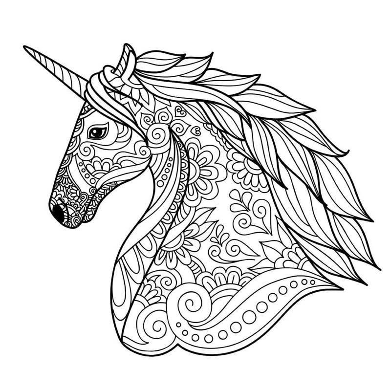 Os desenhos são de responsabilidade de seus respectivos autores. Mandala de Unicornios para Pintar – Desenhos para Colorir