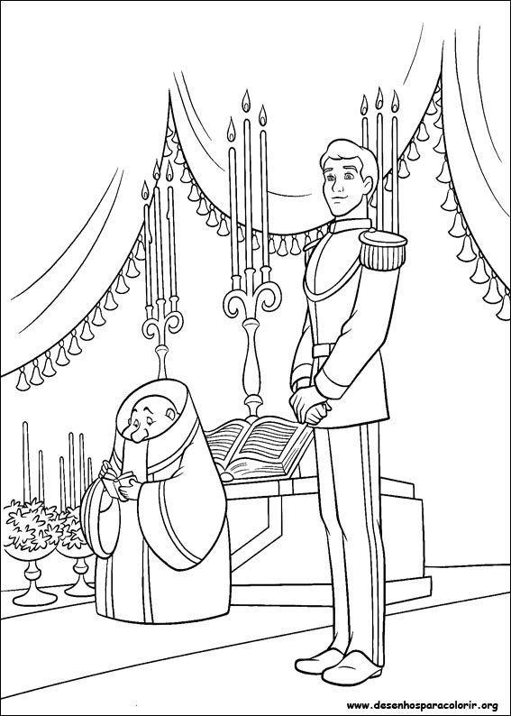Príncipe aguardando Cinderela
