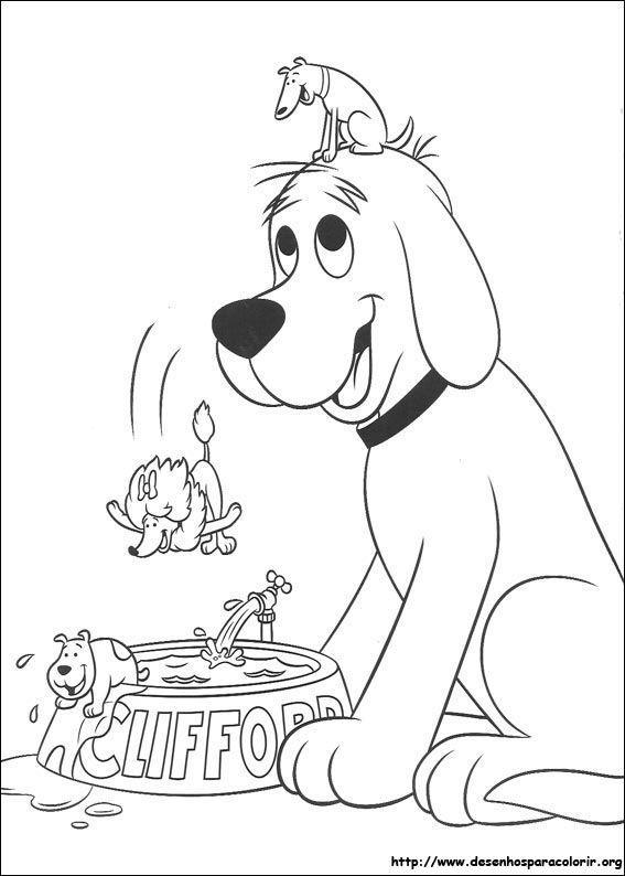 Cachorrinho comendo – Clifford