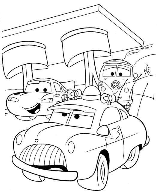 Carros amigos conversando