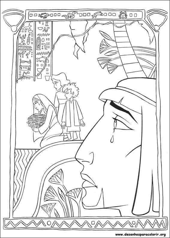 Moisés chorando