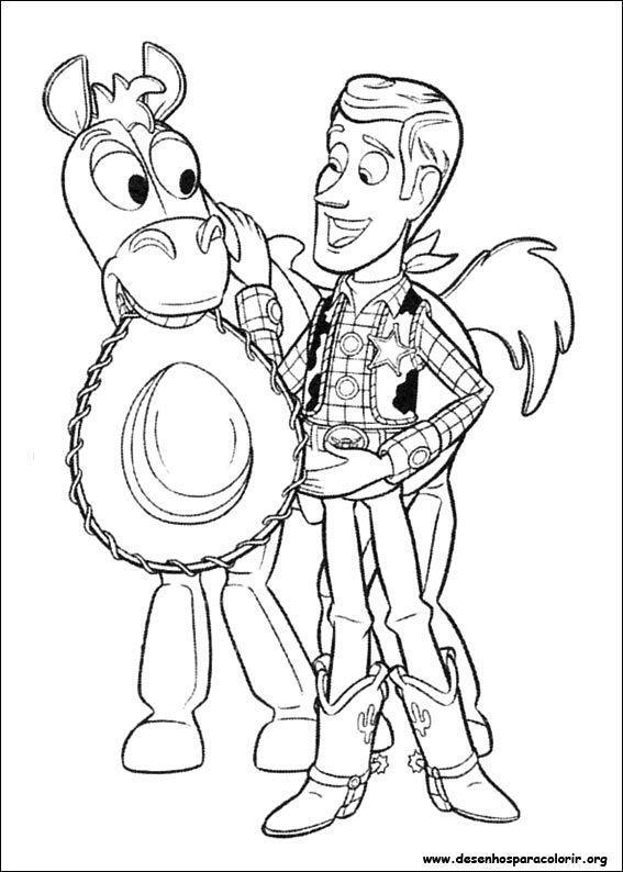 Toy Story 3 16 Desenhos Para Colorir