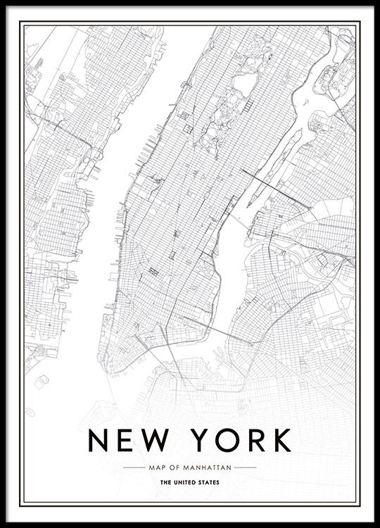 Desenio New York City Poster