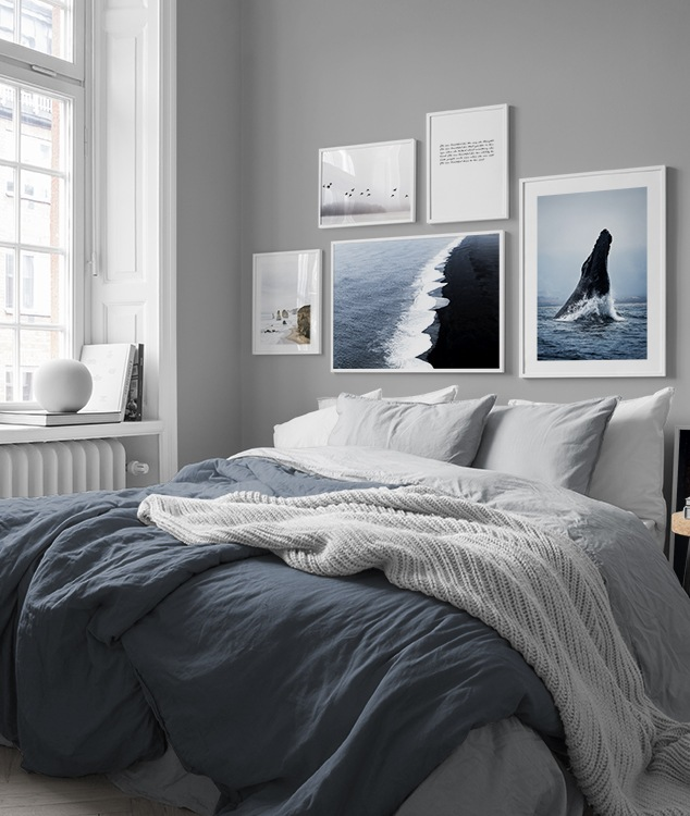 Bedroom inspiration  Posters and art prints in picture
