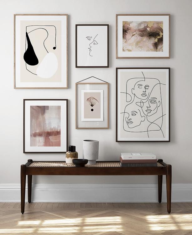 living room ideas wall