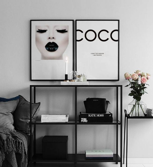 Coco Chanel Poster Posters With Fashion Citations