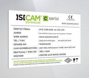 Isicam-Etiketi-TR