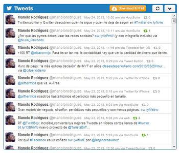 twitonomy tweets
