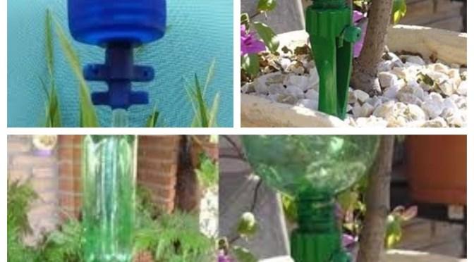 Irrigação por gotejamento para jardins, jarros e hortas urbanas