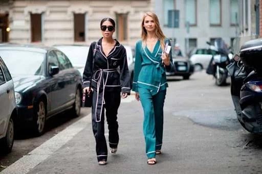 Trend alert: Pijama no dia a dia