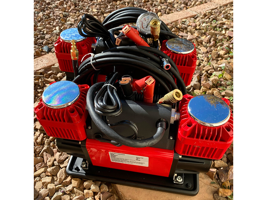 Desert Armor Beast Portable 12v Air Compressor