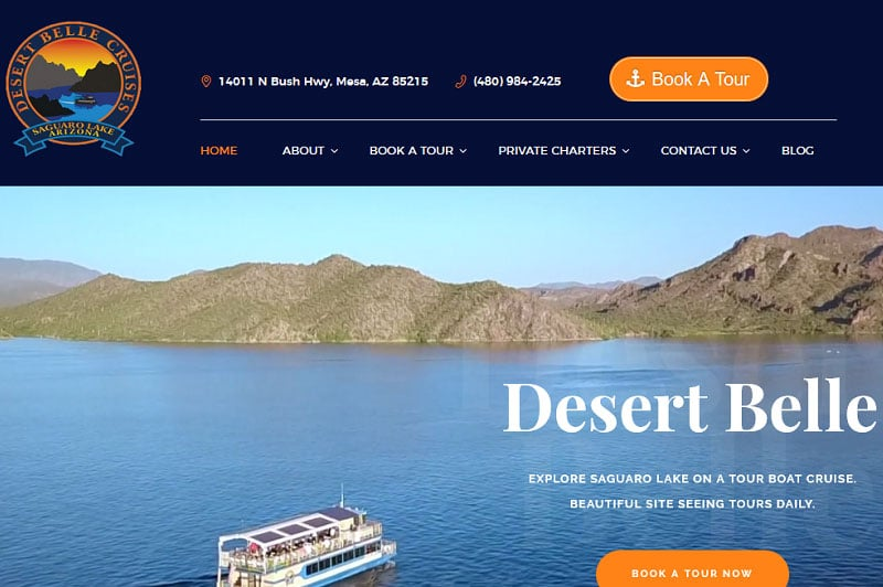 Welcome to The New Desert Belle Website