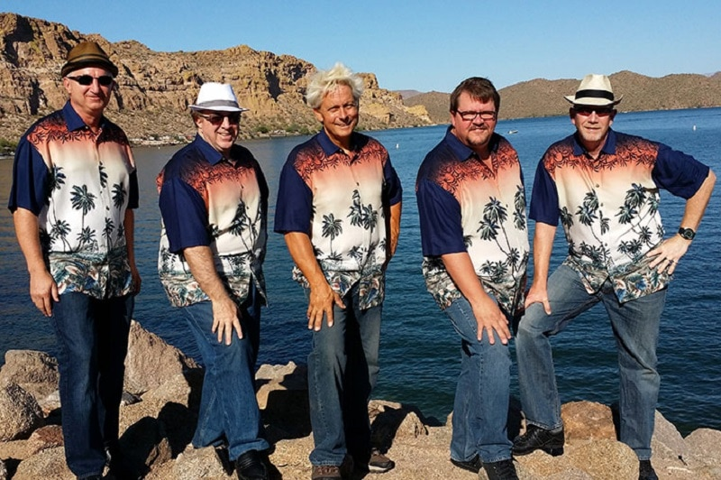 The Southwest Surfers – Beach Boys Tribute Band on The Desert Belle