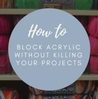 block acrylic