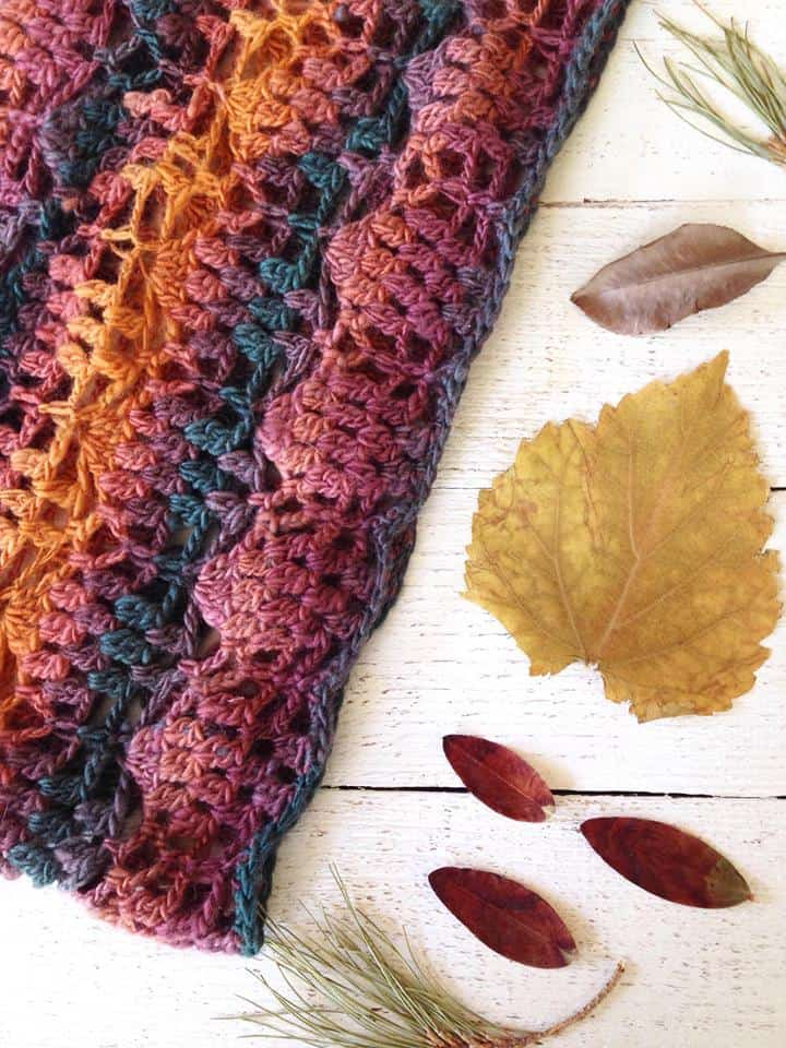 autumn leaves cowl