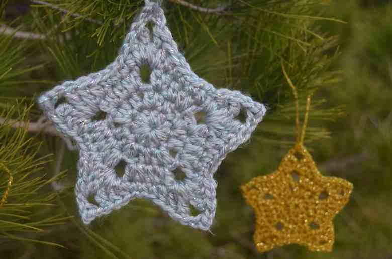 crochet christmas star pattern