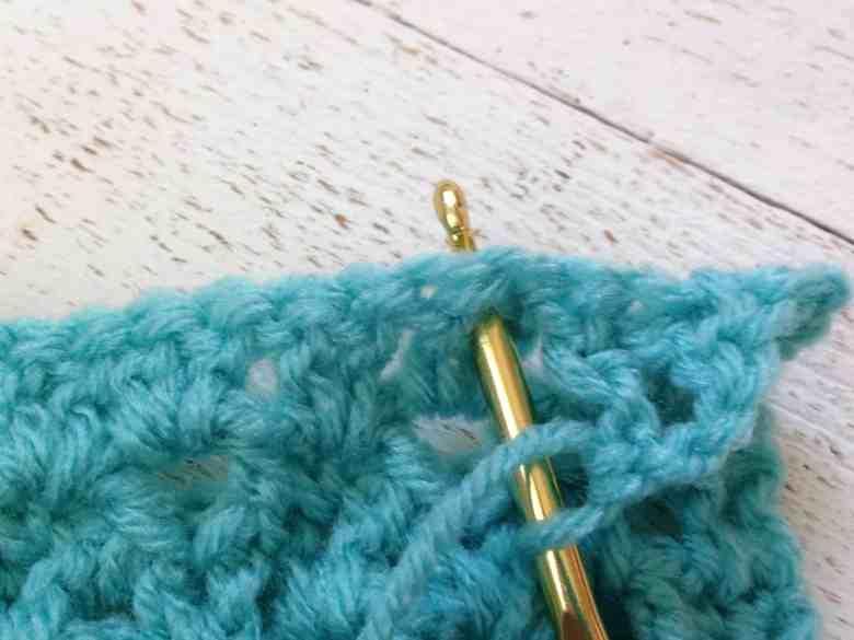 raised v-stitch—free crochet pattern