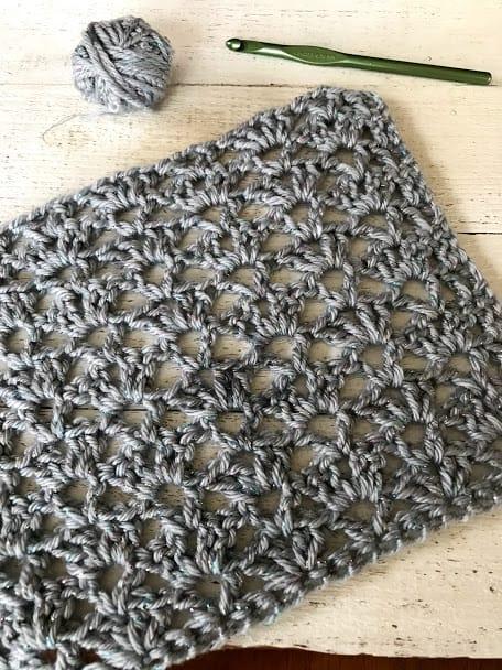 Victorian lace crochet stitch
