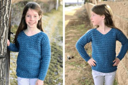 heidi sweater—free crochet pattern