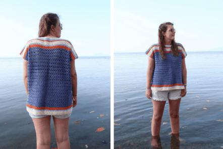 unburst Top—Free Crochet Pattern