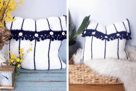 Terni Pillow—free crochet pattern