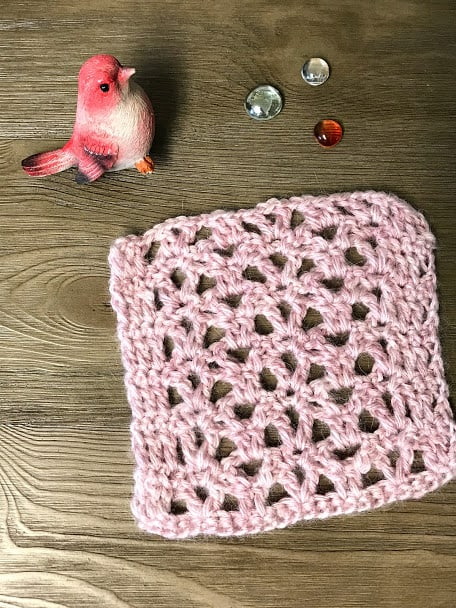 How to Crochet the Crown Stitch