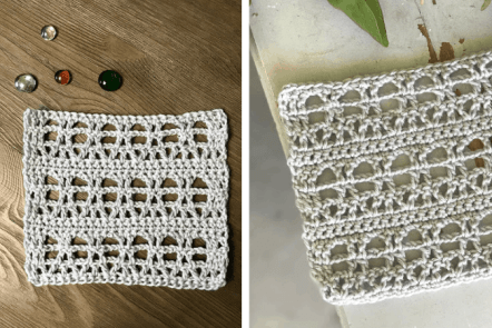 How to Crochet the Eiffel Tower Stitch