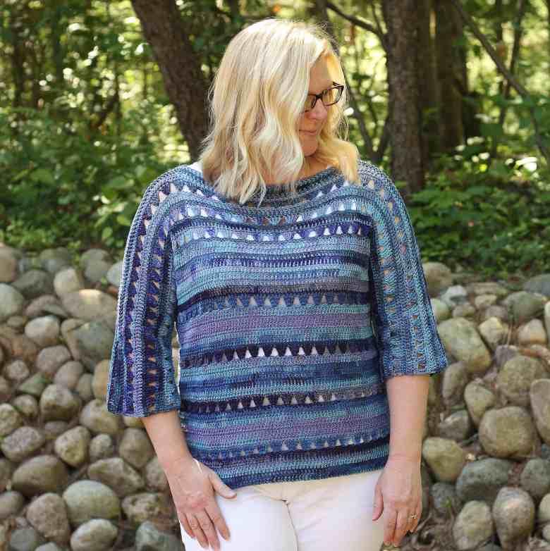 Shelby Top - Easy Crochet Summer Top Pattern