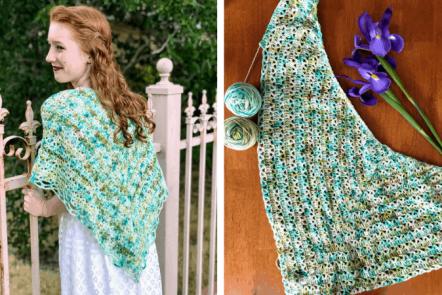 The Aspen Shawl—Free Crochet Pattern