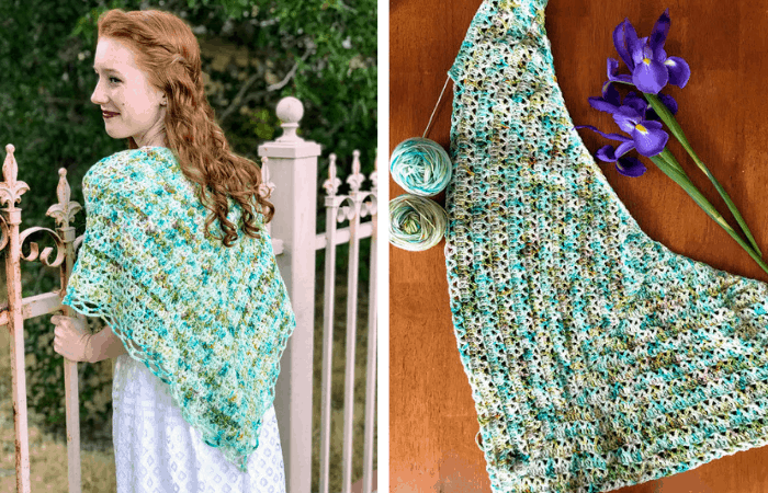The Aspen Shawl—Free Crochet Pattern