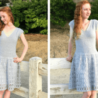 The Parisian Dress, A Free Crochet Pattern for Women