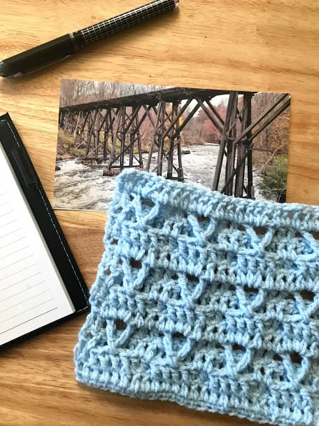 How to Crochet the Bridge Stitch