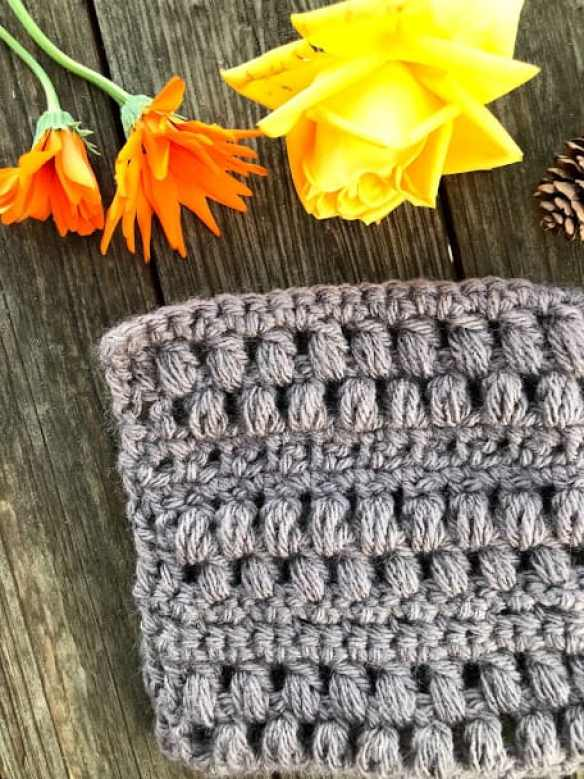 How to Crochet the Pinecone Stitch