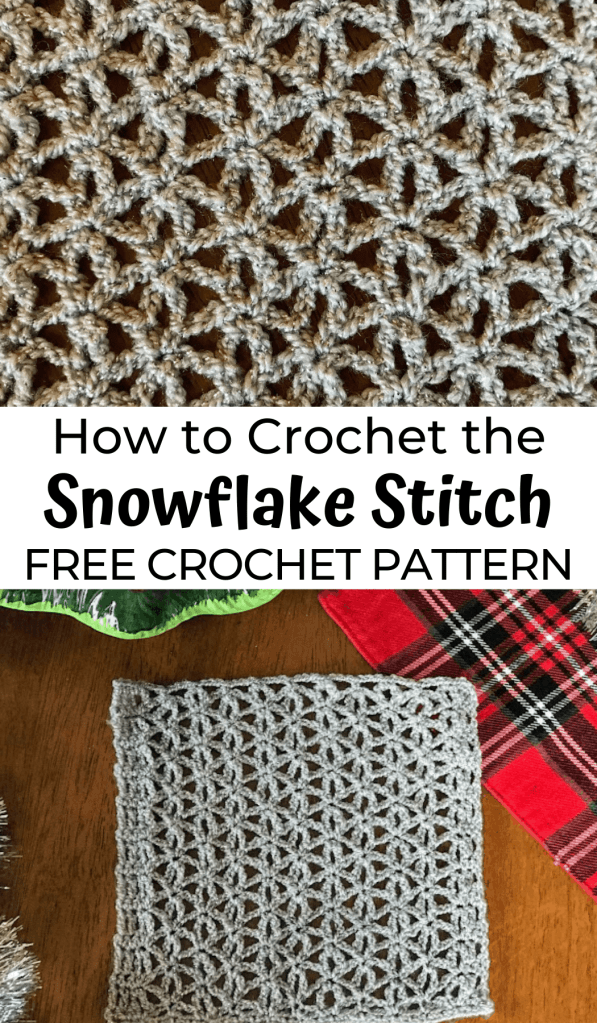 How to Crochet the Snowflake Stitch