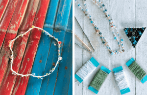 How to Make Beautiful Bead Crochet Jewelry from a Simple Chain