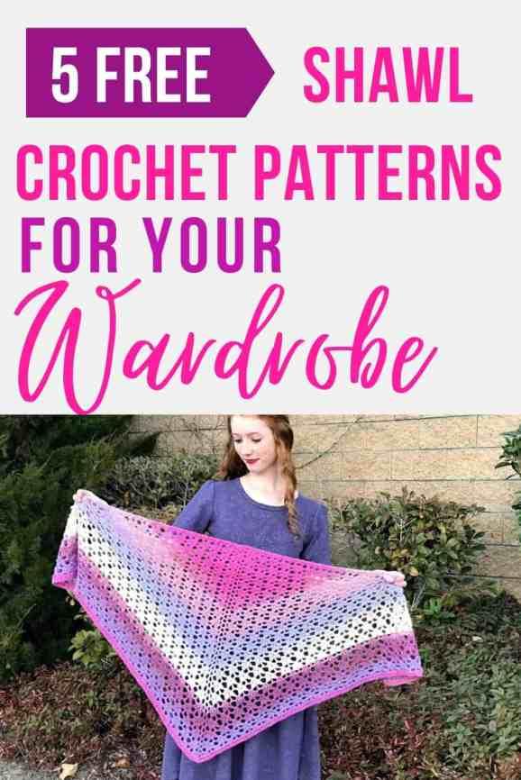 Free Crochet Shawl Patterns (Join a Shawl-Along!)