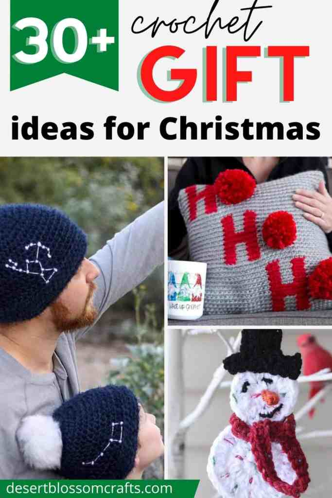 Crochet Gift Ideas for Christmas - Over 30 Free Patterns