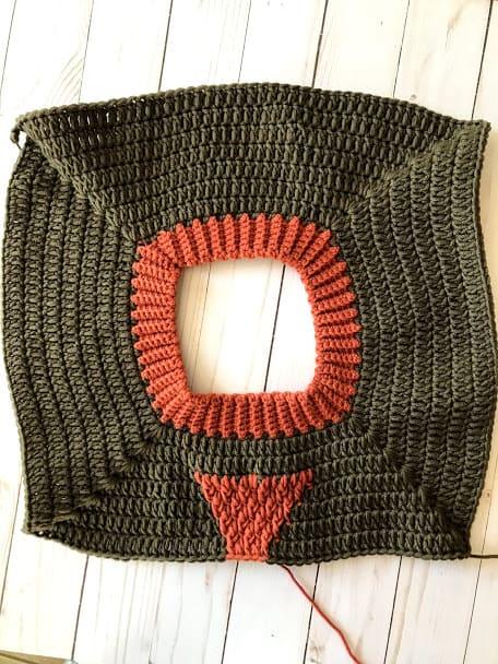 Crochet Raglan Yoke